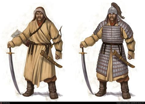Mongol Warrior by Ender Coskun | 2D | CGSociety