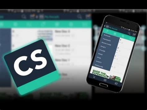 Android App - CamScanner - Review + Demo ~~Go paperless
