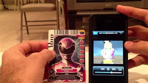 Power Rangers Card Scanner iOS App Review - YouTube