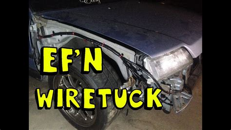 DIY : EF Wire Tuck Quickie - YouTube