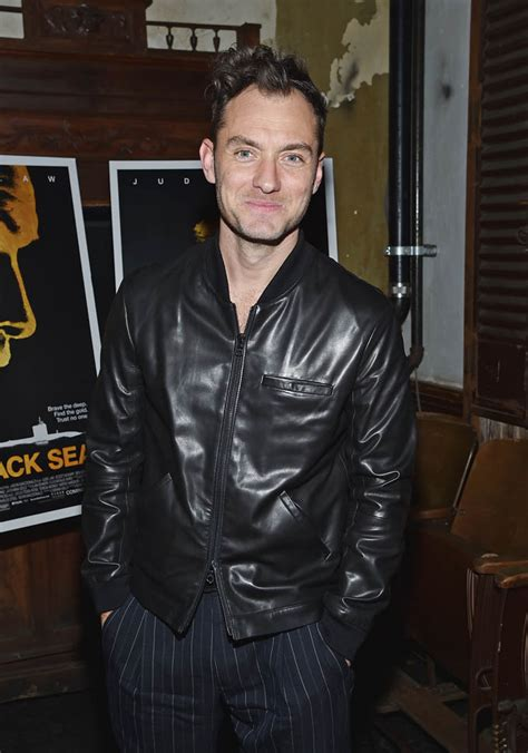 Jude Law's hair at the NY premiere of Black Sea|Lainey