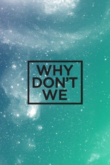 Pin by Dani on Why don't we | Band wallpapers, Why dont we