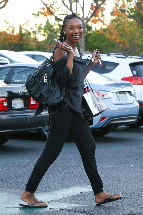 BRANDY NORWOOD Out Shopping in Los Angeles – HawtCelebs