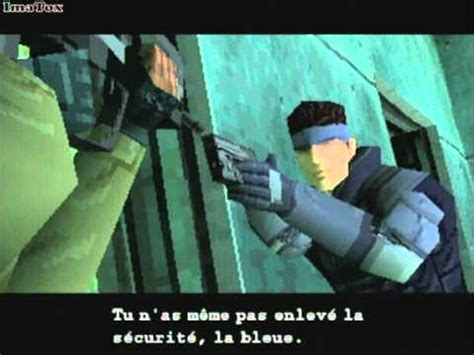 Metal Gear Solid - PS1 - Découverte # 1 - YouTube