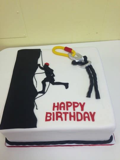Rock Climbing birthday cake by Courtnibrown17 | BeFunky