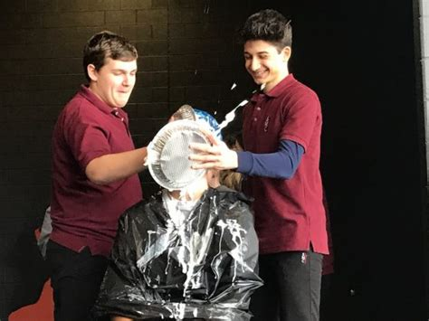 SMC Teachers take pies to the face for Cancer Awareness