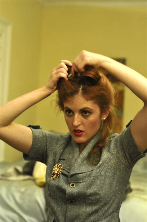 Victory Rolls - Amazing Classic Pin Up Hair Do